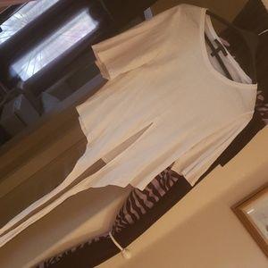 """""""BCBG Maxazria"""" White Tshirt"""